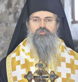 Епископ Рашко-Призренский и Косово-Метохийский Феодосий. Фото: Beta
