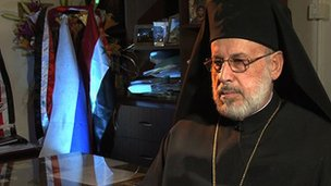 Bishop Louka al-Khoury says Christians belong to their homeland, not to regimes