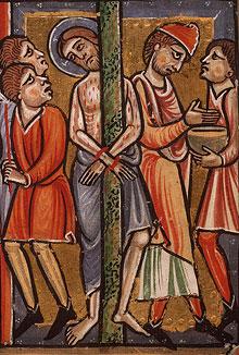 Избиение Христа. Пилат умывает руки