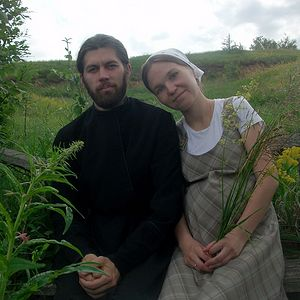 Священник Алексий Веретельников с супругой Натальей