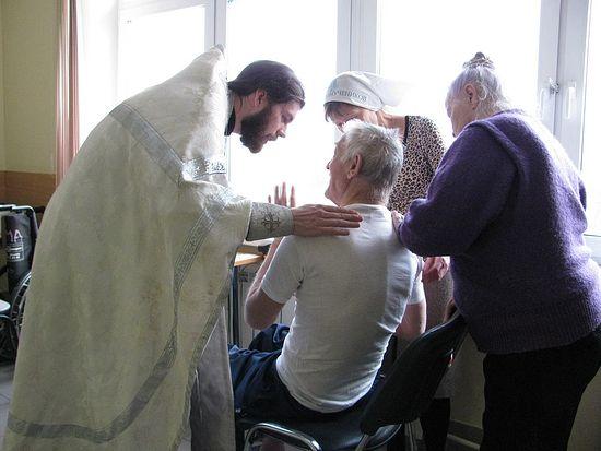 Священник Алексий Веретельников в больнице