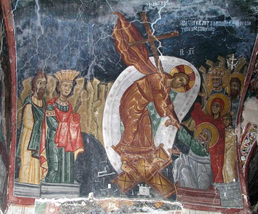 Сошествие Христа во ад. Кипрская фреска