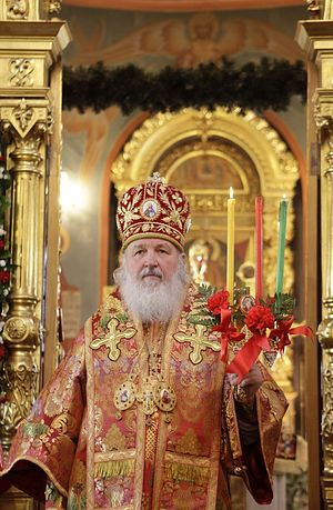 His Holiness Patriarch Kirill of Moscow and All Russia. Photo: Patriarchia.ru