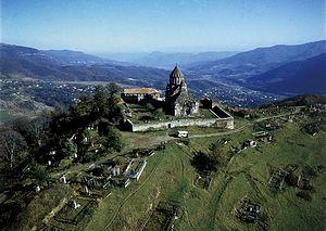 Генджасар, один из храмов Древней Албании