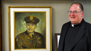 Hotze has spent years interviewing surviving POWs to gather evidence of Father Kapaun's sainthood.