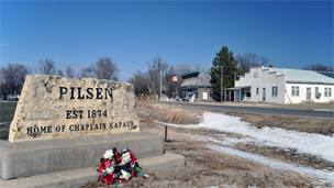 The people of Pilsen hope if Kapaun is canonised, it will draw tourists to the sleepy farm town.
