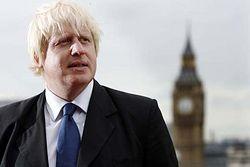 London mayer Boris Johnson.