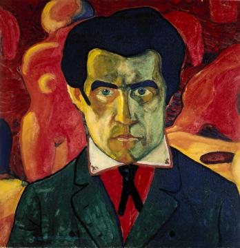 Kasimir Malevich. Self-portrait. 1910.