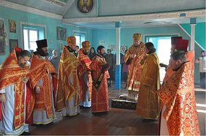 Несколько раз в году в Покровском храме бывшего райцентра совершаются богослужения