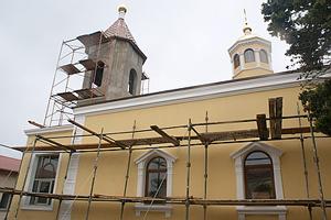 Заканчивается восстановление храма Семи Херсонесских Священномучеников, которому исполнилось 150 лет.