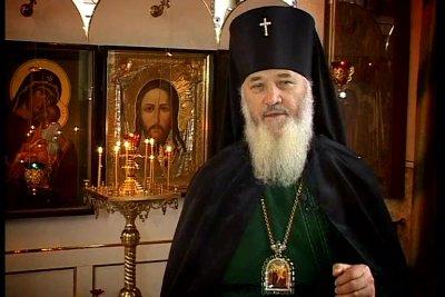 На фото: Архиепископ Гомельский и Жлобинский Аристарх