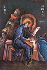 Икона св. Макария, выполненная иконописцем Георгием Кордисом