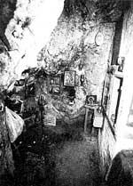 Так выглядела внутри вторая пещера св. Макария