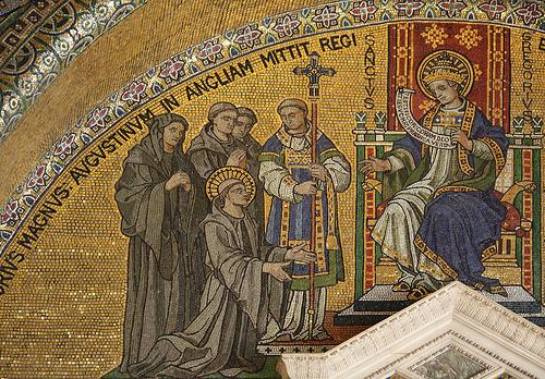 Святитель Григорий Великий посылает св. Августина проповедовать на Британских островах