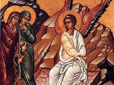 Icon of the myrrh-bearing woman