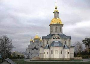 Проект Благовещенского собора в Дивеево