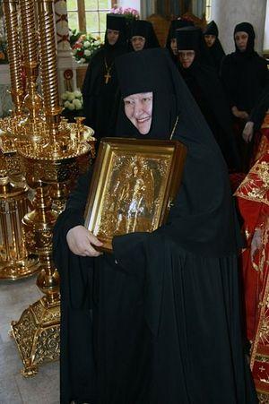 Игуменья Николая (Ильина), 09.05.2011.Фото: Официальный сайт Калужской епархии