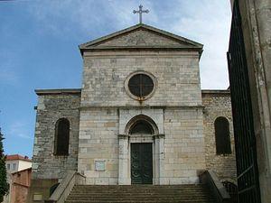 Церковь святого Иринея где покоятся мощи мучеников