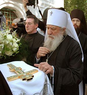 Встреча Высокопреосвященнейшего митрополита Лавра