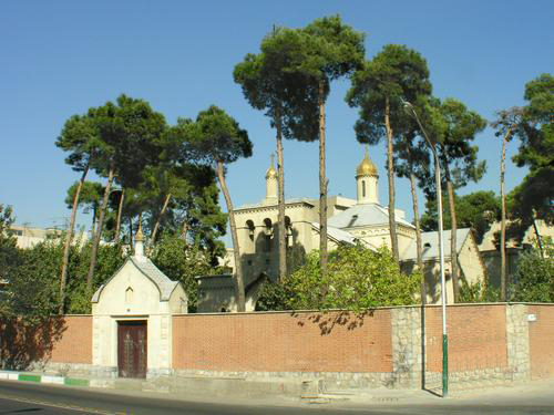 Храм святителя Николая в Тегеране