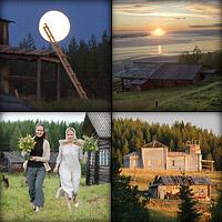 Восстановительные работы в деревянном храме села Усть-Нерманка