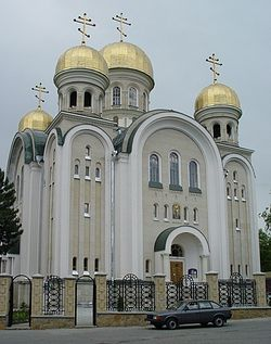 Свято-Никольский собор г.Кисловодска. Фото: http://www.novodev.narod.ru