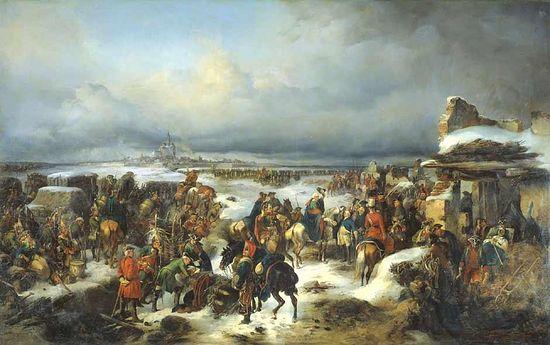 Взятие крепости Кольберг. 5 декабря 1761 г. А. Коцебу.