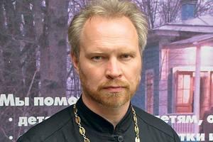 Священник Андрей Верещагин. Фото: Георгий Чентемиров
