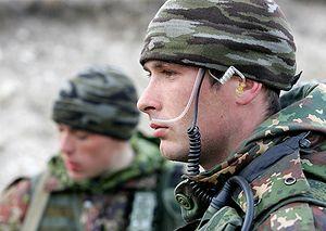 Разведчики Южного военного округа на полигоне Дарьял, март 2012 г. Фото: пресс-служба ЮВО.