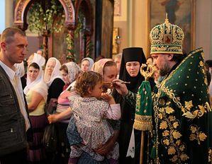 Всенощное бдение в Троицком соборе Русской Духовной Миссии