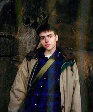 Джон Шрёдель в Иерусалиме. Январь 1994 г.