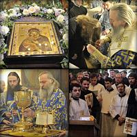 Праздник Владимирской иконы Божией Матери в Сретенском монастыре
