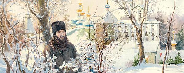 Иеромонах Роман (Матюшин). Художница: А.Нуракишева