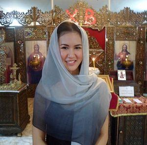 Р.Б. Анна (Пирайя Тангдамронгхам, Peeraya Tangdamrongtham) после Св. Крещения