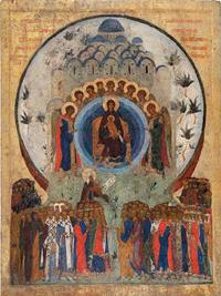 Икона «О тебе радуется...», Около 1497