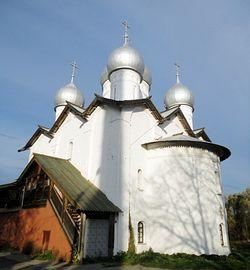 Новгород, церковь св.страстотерпцев Бориса и Глеба