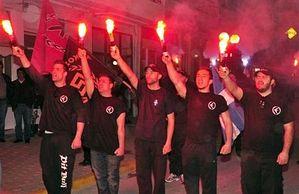 Факельное шествие «Золотой Зари»