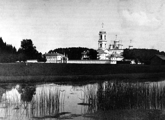 The Monastery of St. Paul of Obnora in the 18th c.