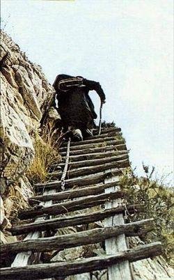 Climb to Karoulia