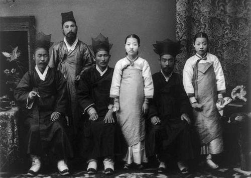 Корейская семья 1910 г.