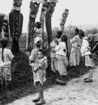 Языческое капище около Сеула. 1899-1900 гг.