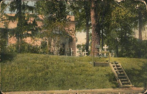 Семёновская флешь в 1912 году. Место гибели генерал-майора Тучкова 4-го