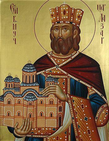 Св.Лазарь. Современная икона.Фото: иером.Игнатий (Шестаков)
