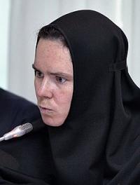 Руководитель юридического отдела Московской Патриархии инокиня Ксения (Чернега)