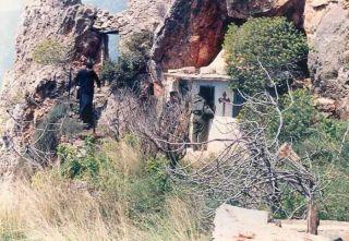 В пещерах Святой Анны. Храм Иоанна Предтечи братства Иосифа Исихаста