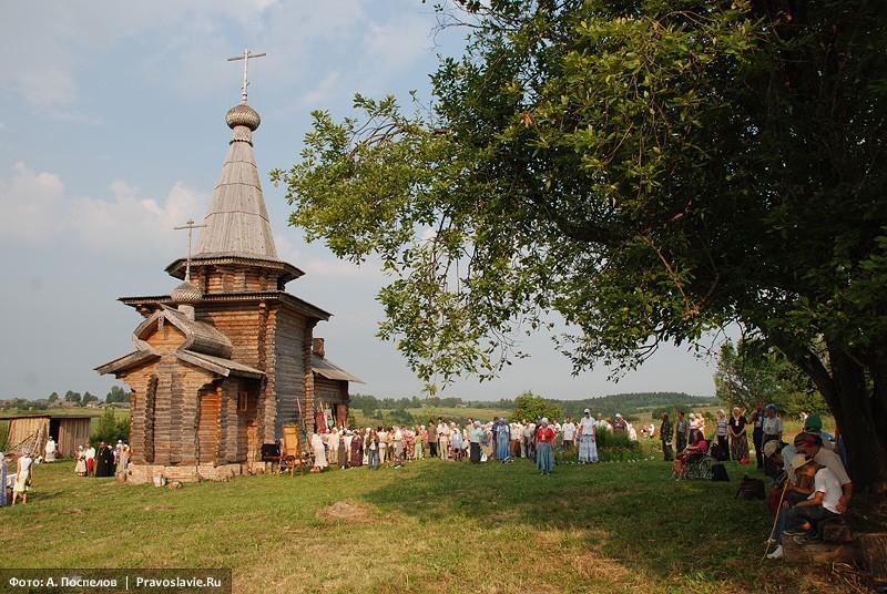 Ильинский храм в Ивановском-на-Лехте. Фото: Антон Поспелов / Православие.Ru