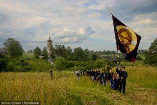 Photo: Anton Pospelov/Pravoslavie.ru. The St. Irenarch procession.