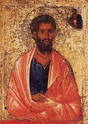 Святой Иаков Алфеев апостол XIII век, Греция Патмос, монастырь св. Иоанна Богослова