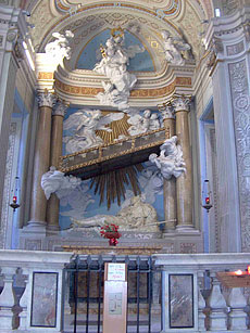 Лестница св. Алексия в храме