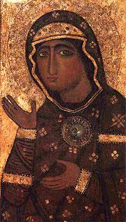 Эдесский Образ Божией Матери в церкви св. Алексия и Вонифатия на Авентийском холме